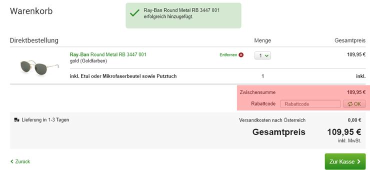 Misterspex Gutscheincode